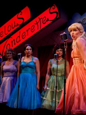 It's all about '50s and '60s music in 'The Marvelous Wonderettes.'