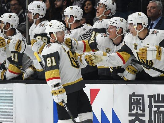 USP NHL: VEGAS GOLDEN KNIGHTS AT LOS ANGELES KINGS S HKN LAK VGK USA CA