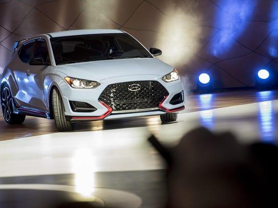 NAIAS media preview Hyundai