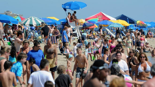 Businesses are able to purchase space on lifeguard stands at Cape Henlopen, Delaware Seashore State Park beaches, and Fenwick Island. The water park lifeguard stands at Killens Pond State Park also are part of the program.