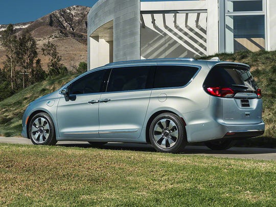 Chrysler's Pacifica minivan comes in a plug-in hybrid