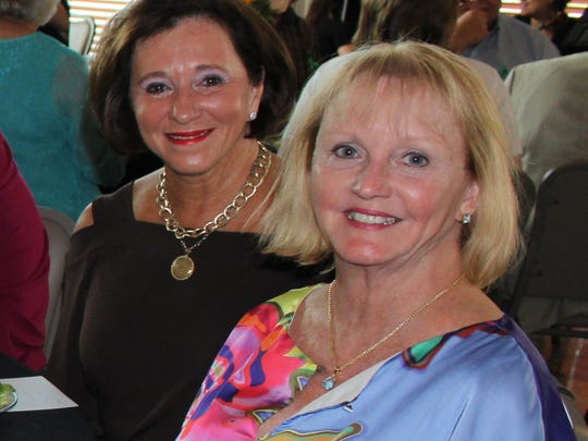Rebecca Miller and Becky Dekay at Celebration of Life.
