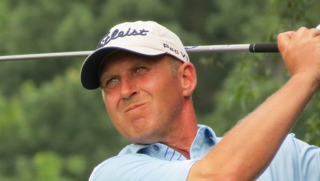 David McGovern, the head pro at Brooklake in Florham Park, fired a 1-under-par 71 at Metedeconk National in Tuesday's opening round at the NJSGA Open Championship.