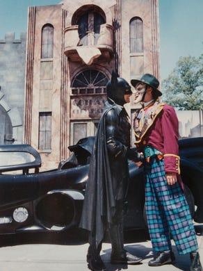 1992 The batman stunt show