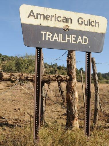 The American Gulch South trailhead is on Doll Baby Ranch Road near Payson.