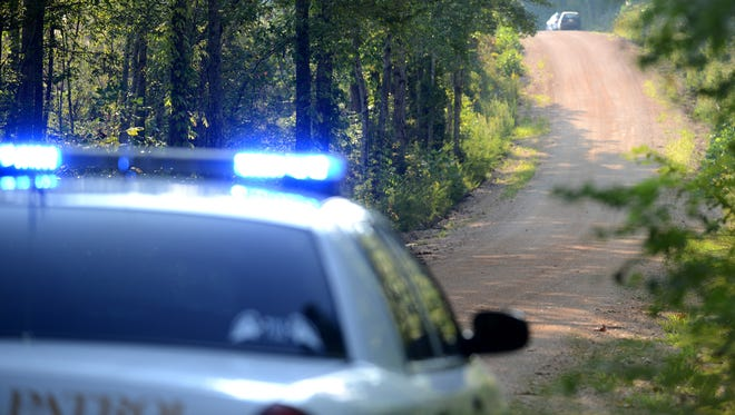 Investigators searched County Corner Road in Decatur County on Sunday afternoon after two people who were picking ginseng on the road found a human skull around 10:30 a.m. DNA tests will be done to determine whose skull it is.