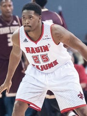Ragin' Cajuns point guard Elijah McGuire, a star UL