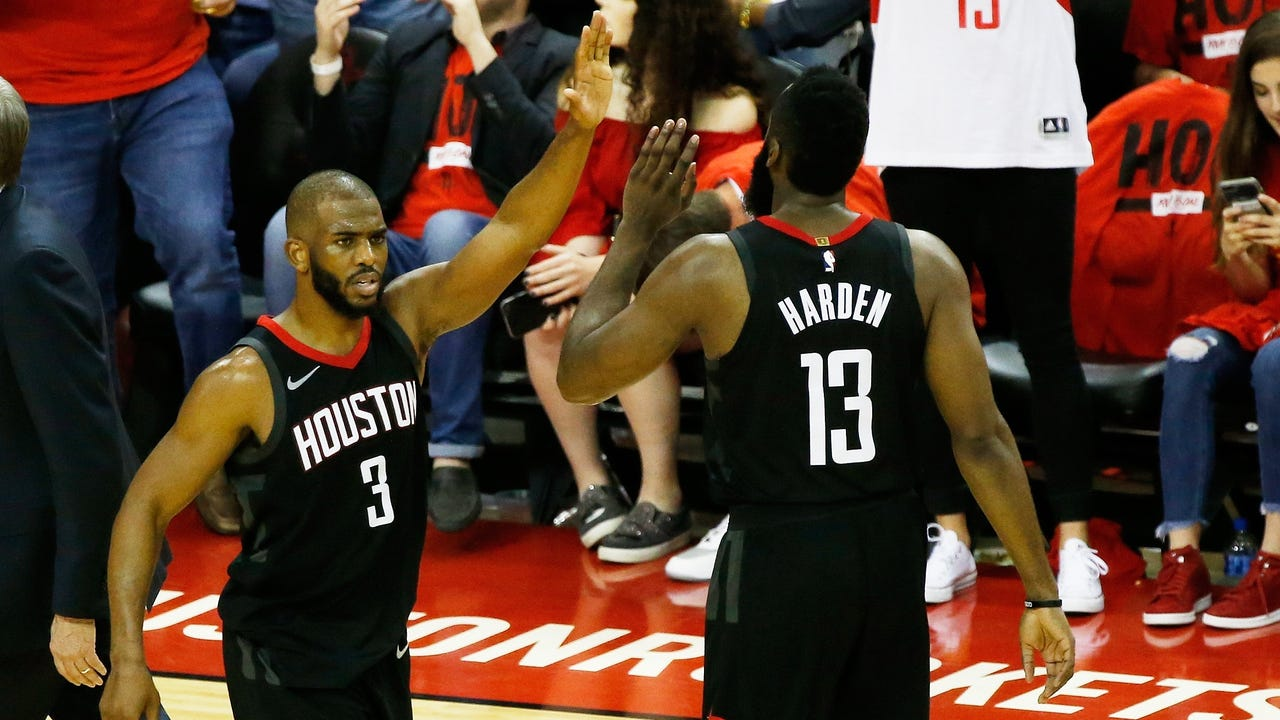 Rockets guard Chris Paul will miss Game 6 of the Western Conference finals with a right hamstring strain. Houston takes a 3-2 series lead back to Golden State, but the challenge of clinching is now even more daunting.