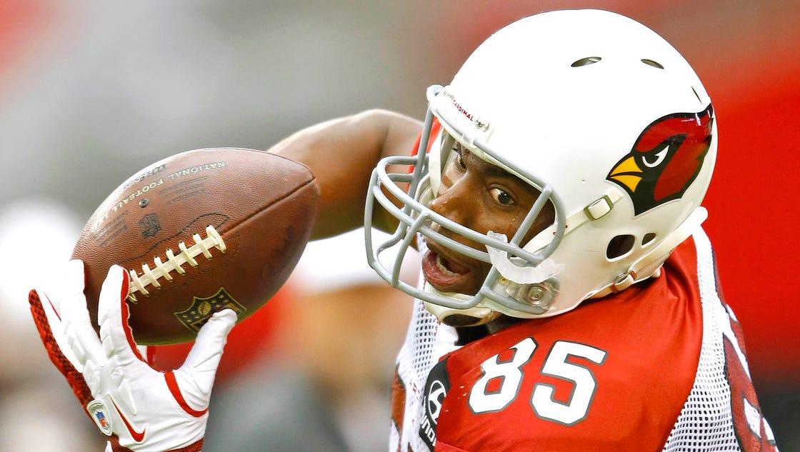 Discount Men's Arizona Cardinals Darren Fells #85 Red Home Stitched Elite NFL  hot sale
