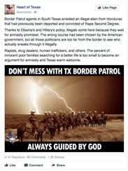 An ad placed on Facebook on Aug. 4, 2016 by Russian-linked