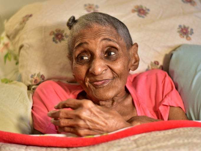 Hospice patient Tressie Jennings always regretted never