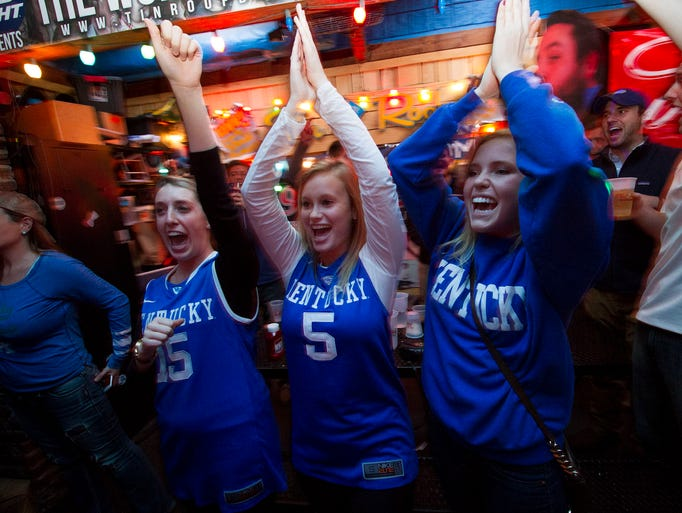 Gallery Kentucky Fans Celebrate