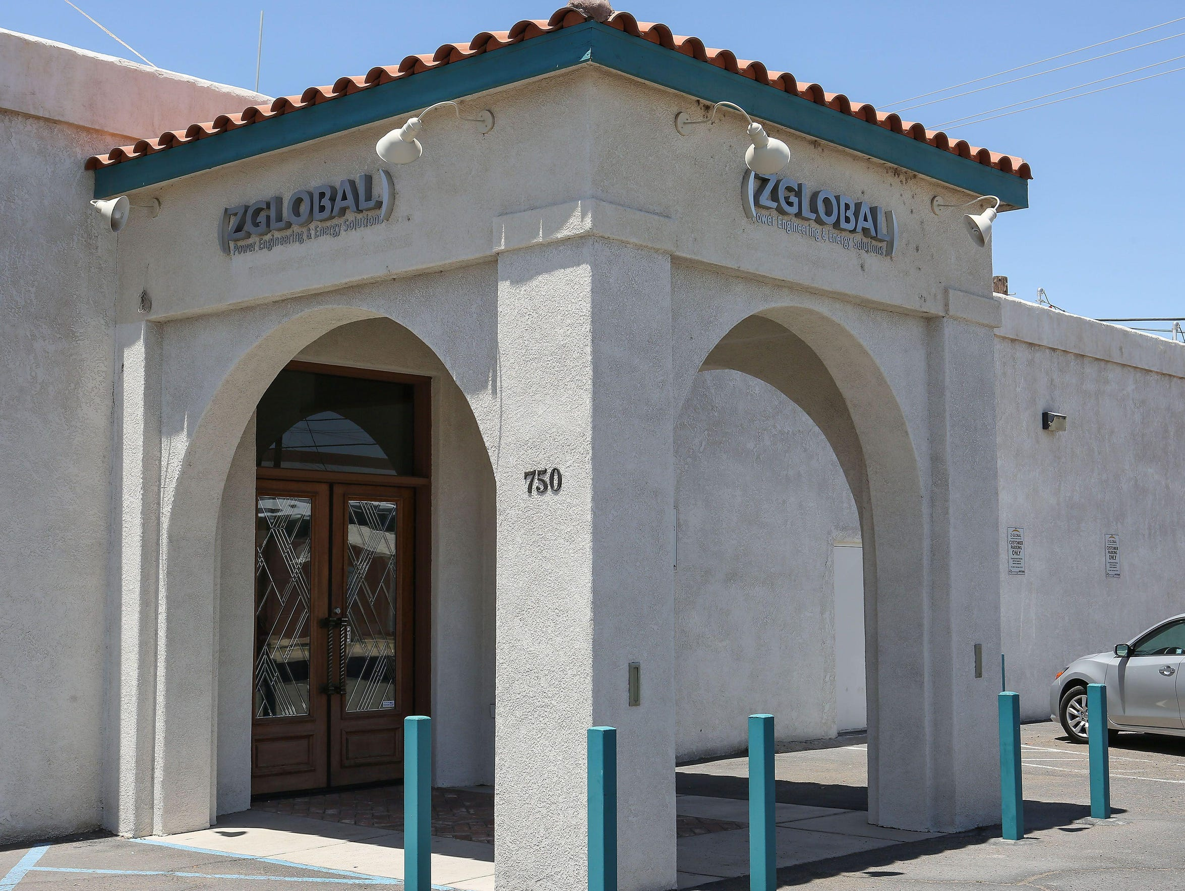 The outside of ZGlobal's Imperial Valley office in