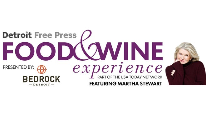 Detroit Free Press Food & Wine experience featuring Martha Stewart