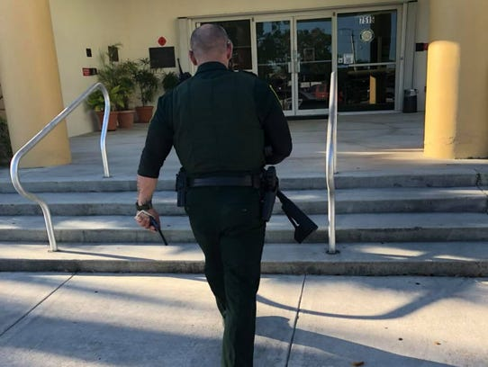 An image from a post in which a Florida resident described surrendering his AR-57 rifle.