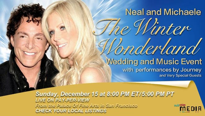 Neal and Michaele's pay-per-view wedding invitation