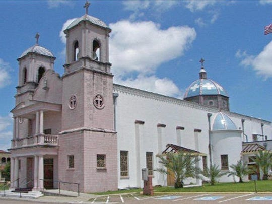 Our Lady of Guadalupe Catholic Church in Hebbronville is one of the most magnificent in the Corpus Christi Diocese with three steeples and a unique cedar-carved altar.