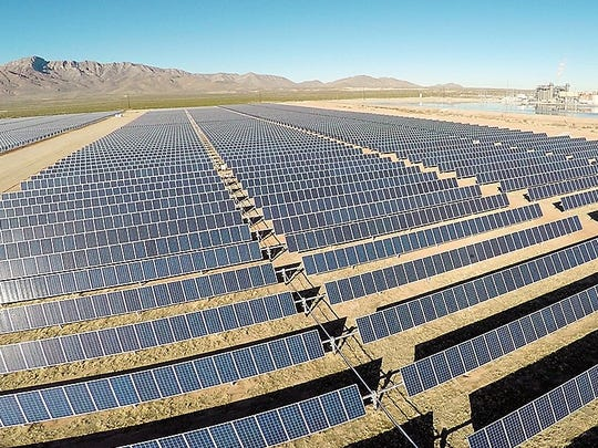 El Paso Electric wants to use power from this 10-megawatt solar plant next to its Newman power plant to expand its Community Solar Program.