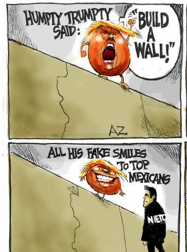 Cartoon for Sept. 1, 2016.