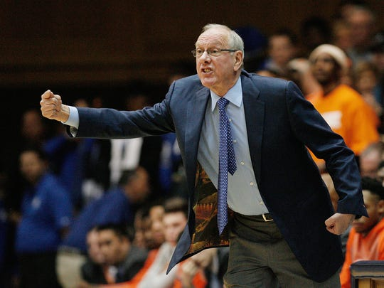 Jim Boeheim's team last year beat Duke, 64-62, in Durham, N.C. The Orange are 16-12 overall, 8-7 in the ACC headed into their final three regular-season games.