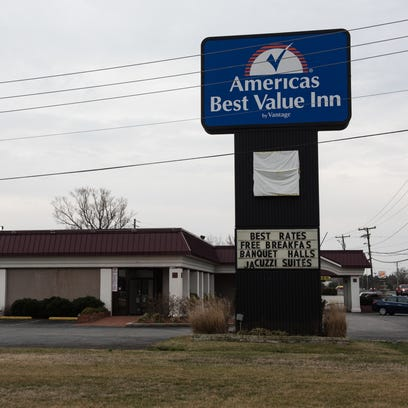 An exterior view of America's Best Value Inn on North
