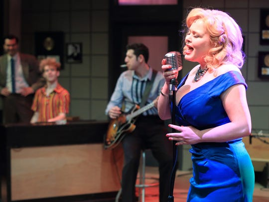 "Ryah Nixon as Dyanne in ""Million Dollar Quartet"" at"