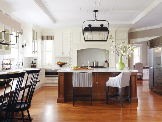 decorative ceilings bring a unique aspect to the kitchen - The Kitchen Redesign