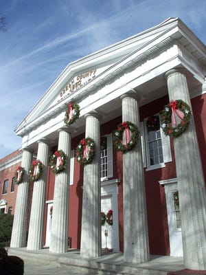 Downtown Toms River is decked out for the holidays.