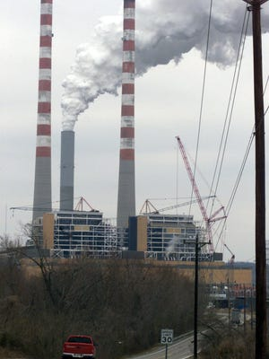 Cumberland City, located near the edge of Montgomery, Stewart and Houston counties, is home to one of TVA's coal-fired power plants.