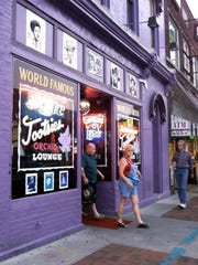 6/15/00 - Tootsies Orchid Lounge, which is located