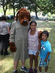 McGruff makes the rounds on National Night Out