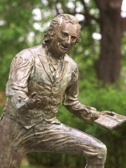 If you go to the Bordentown Street Fair, say hello to Thomas Paine.