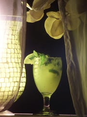The Mojito is a exotic herbal drink served at Sabor.