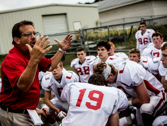 Brian Gastin, an English teacher at Utica High School, submitted his resignation to be approved at Monday's North Fork School Board meeting. Students started an online petition to show their support for Gastin, who they said was forced out. Gastin also was the school's head football coach in 2015 before retiring from that position.