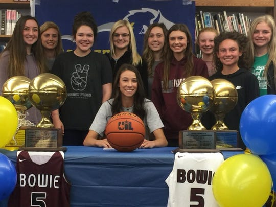 Bowie's Kamryn Cantwell signed to play basketball at