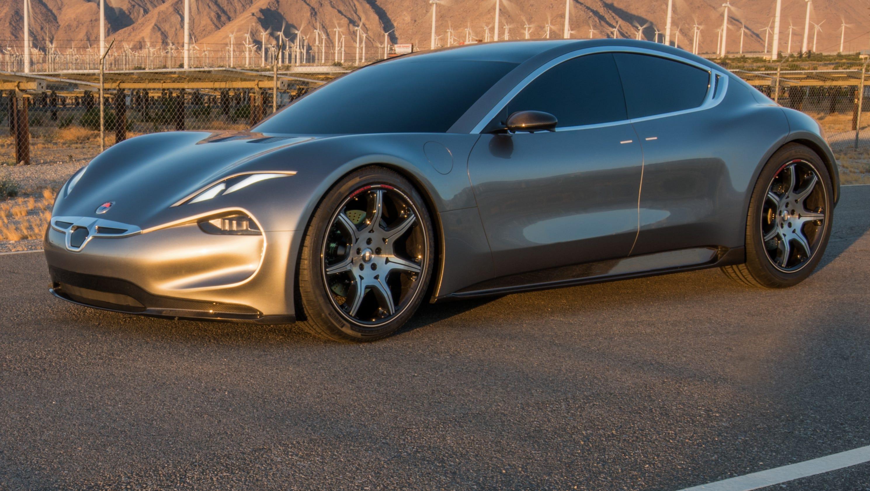 Fisker returns with EMotion electric car