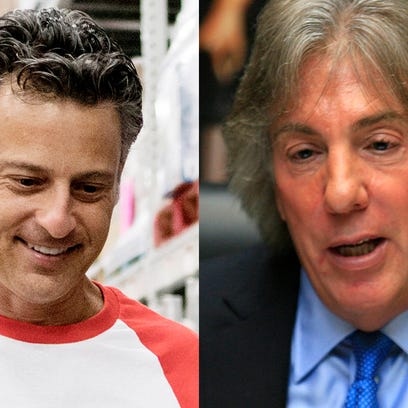 Attorneys Mike Morse and Geoffrey Fieger