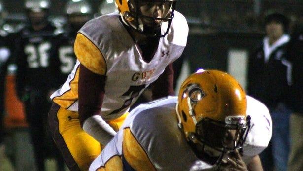 Cherokee freshman quarterback Tye Mintz.
