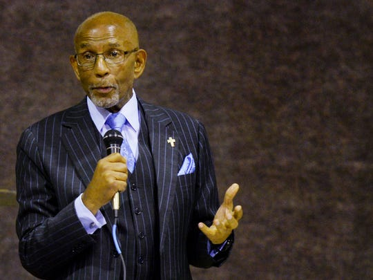 Elbert Guillory at the Broadmoor Neighborhood Association's