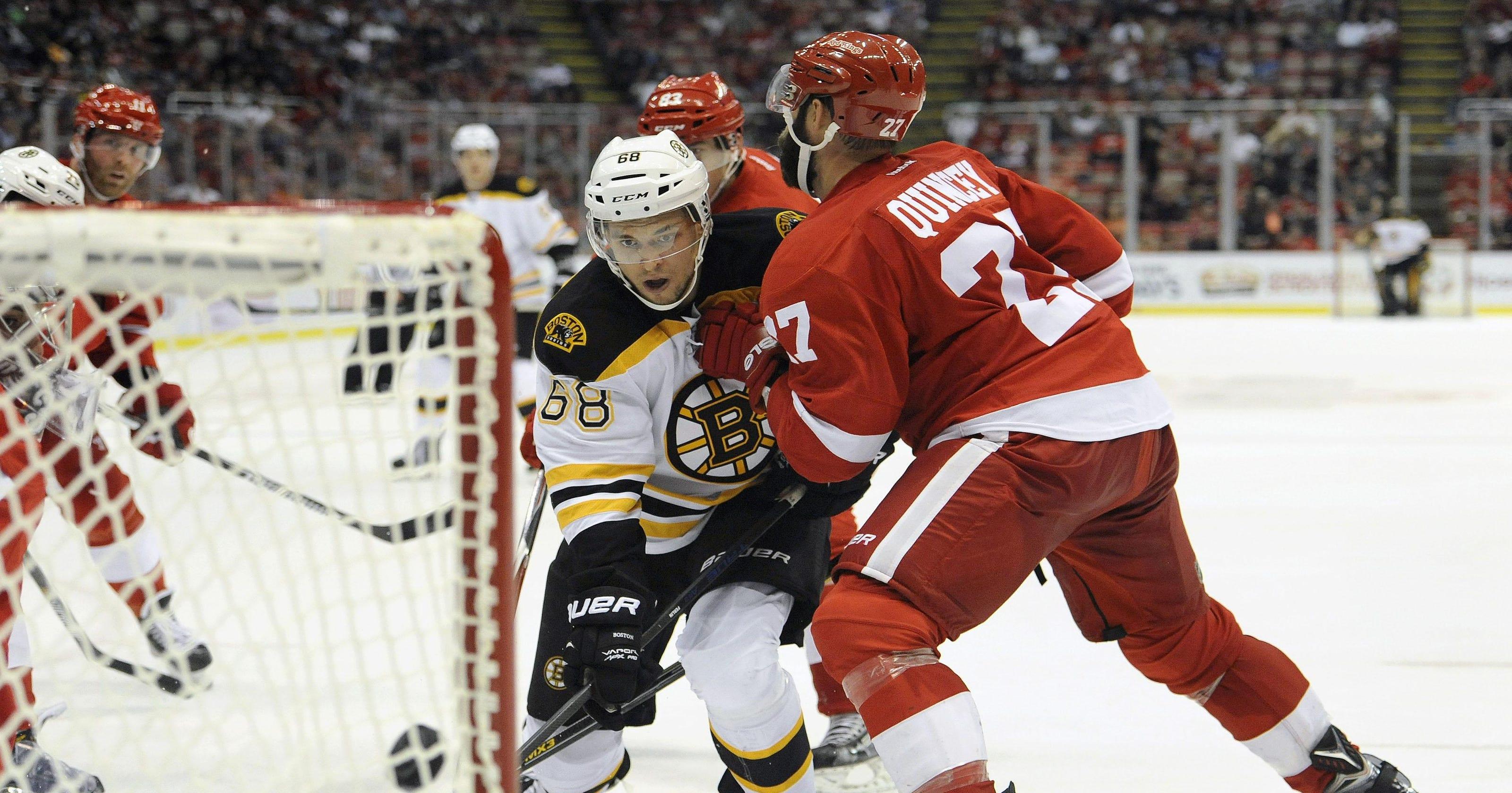 Bruins Edge Wings On Krug S Overtime Goal