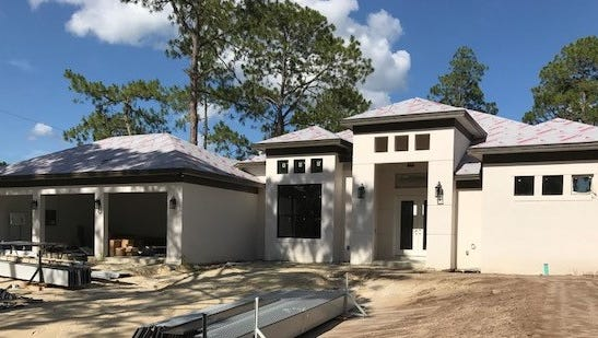 Nova Homes of Southwest Florida is building a four-bedroom, three bath home in Golden Gate Estates.