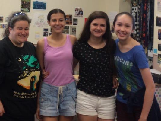 Student news: Readington Middle School young poets win iWitness