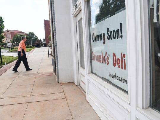 Groucho's Deli is coming soon to a space next to Carolina Wren Park in downtown Anderson.