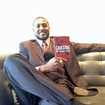"""Michael Clayton stopped by 10 News on March 21 to talk about his new book, """"Chasing My Rookie Year: The Michael Clayton Story."""""""