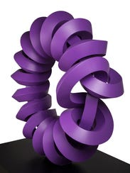 """Nudo Torusado / Torus Knot,"" 2014 sculpture by Sebastián."