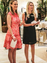 Dr. Shari Skinner, left, at a local event.