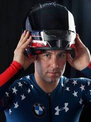Team USA bobsledder Nick Cunningham