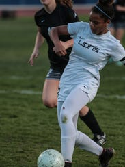 Dalaina Johnson scores Cathedral City's second goal