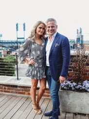 Anabelle and Robert DiPilla celebrate at The Madison