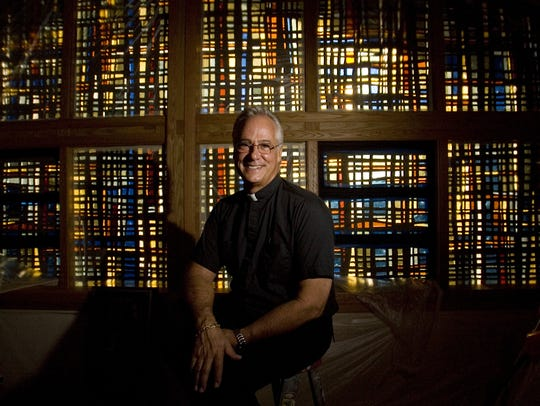 Father Christopher Senk, photographed in 2008, is pastor